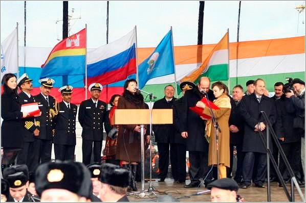 На заводе «Янтарь» спущен на воду боевой корабль «Teg» для ВМС Индии