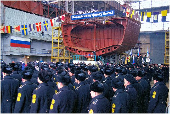 Начато строительство первого сторожевого корабля проекта 11356 для ВМФ России