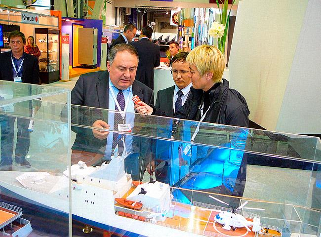 Участие ОАО «Северное ПКБ» в работе международной выставки «ЕВРОНАВАЛЬ-2010»