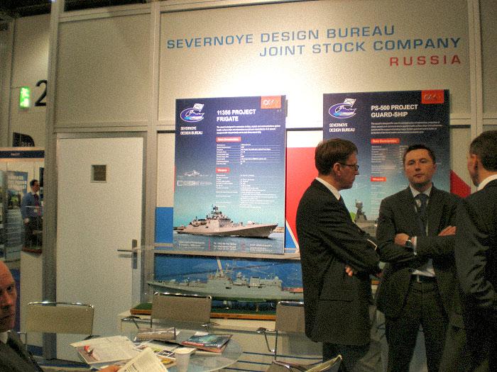 Участие ОАО «Северное ПКБ» в работе Международной выставки Dsei-2011