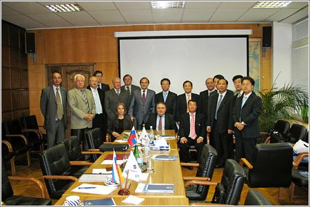 Прием делегации компании Samsung Heavy Industry