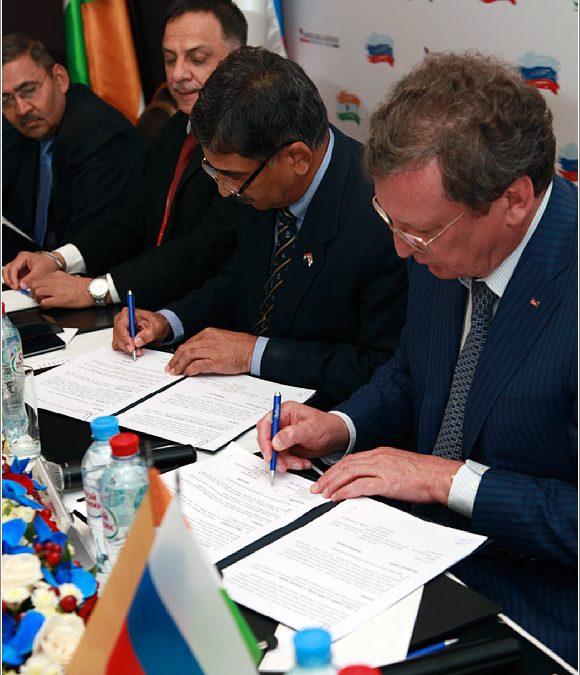 Представители АО «Северное ПКБ» приняли участие в 30-м заседании Подгруппы по судостроению Российско-Индийской межправительственной комиссии по ВТС