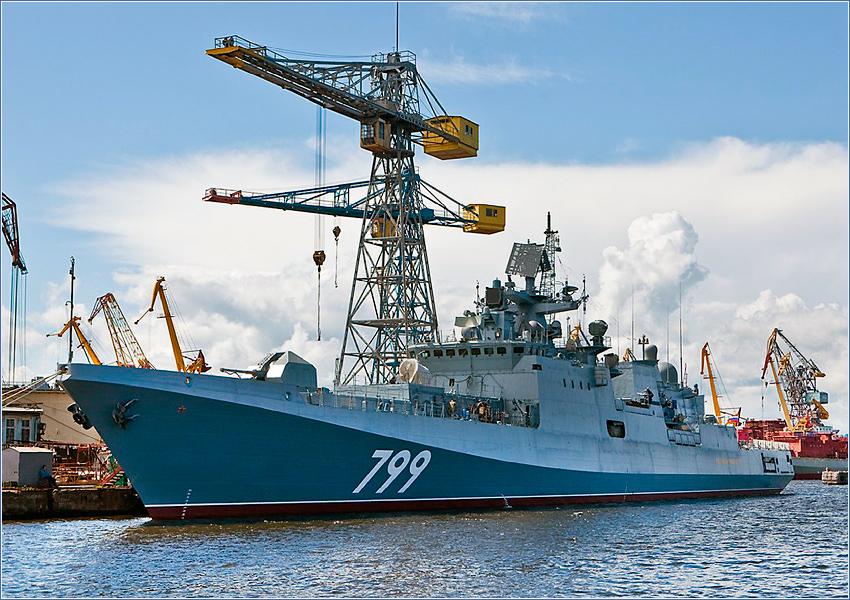 Фрегат «Адмирал Макаров» передан ВМФ России