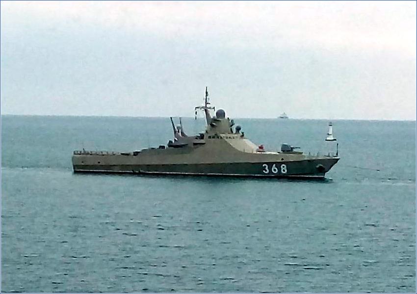 О корабле проекта 22160 написали в СМИ США