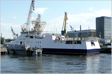 Корабль нового поколения для пограничной службы ФСБ России
