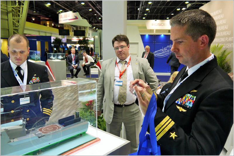 24-я международная выставка военно-морской техники и вооружения «Евронаваль-2014»
