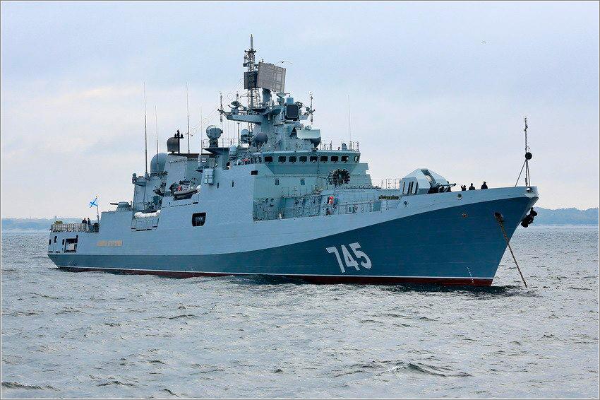 «Адмирал Григорович» приступил к государственным испытаниям