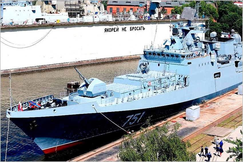 ВМФ России получил новейший сторожевой корабль «Адмирал Эссен»