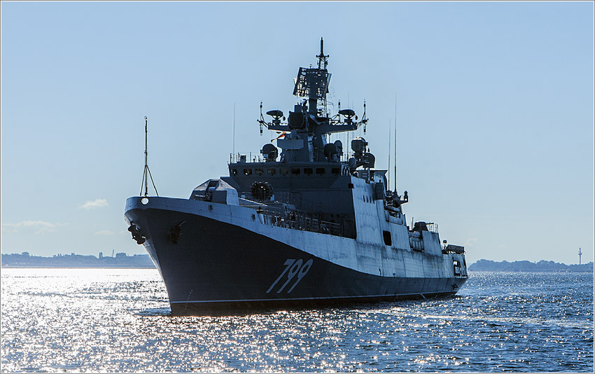 «Адмирал Макаров» выполнил программу госиспытаний