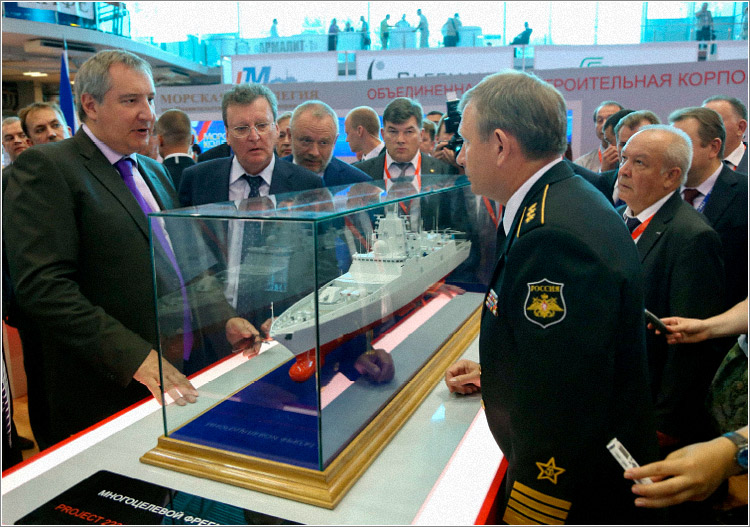 Участие ОАО «Северное ПКБ» в работе шестого «Международного военно-морского салона-2013»