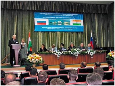 Шестое заседание подгруппы по судостроению Российско-Индийской межправительственной комиссии по военно-техническому сотрудничеству.